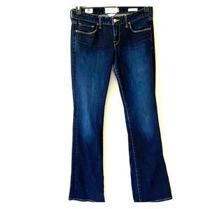 Lucky Brand Sz4/27 Lolita Boot Dark Denim Jeans